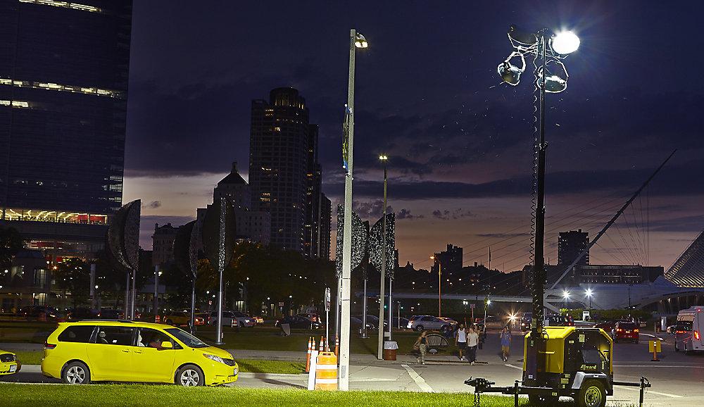 Allmand lighting tower 5