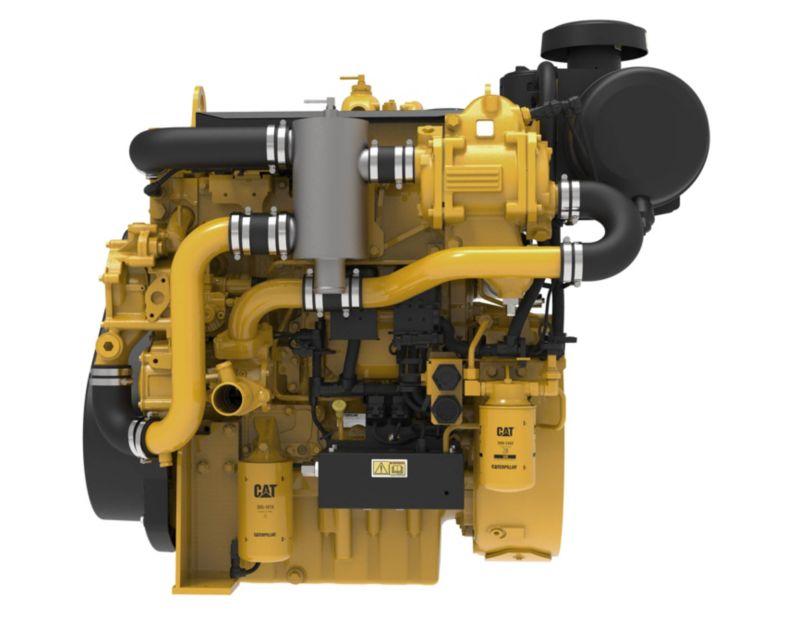 C4.4 Marine Auxiliary Engine