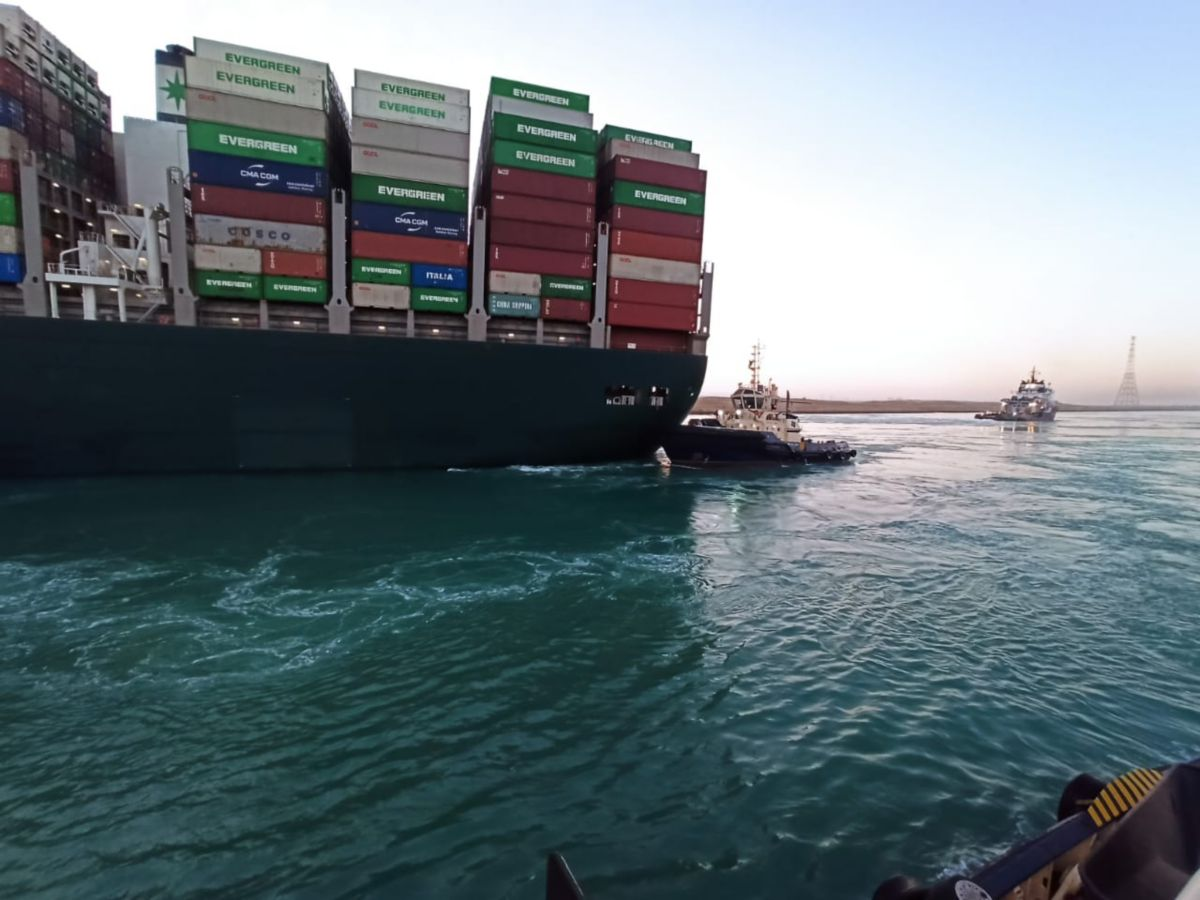 SVITZER Ever Given salvage operation