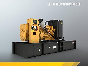 Cat 7.1 GC Enclosed Genset