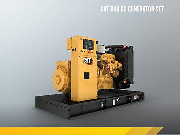 Cat 4.4 GC Enclosed Genset