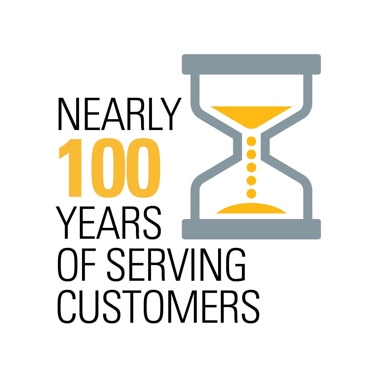 Nearly 100 years of customer service
