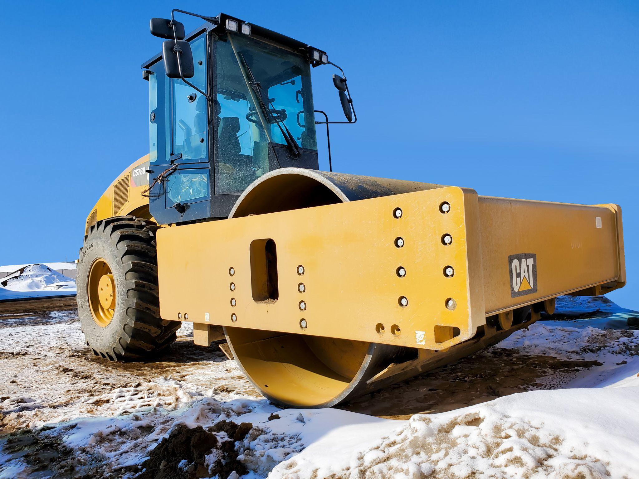 CS78B Vibratory Soil Compactor>