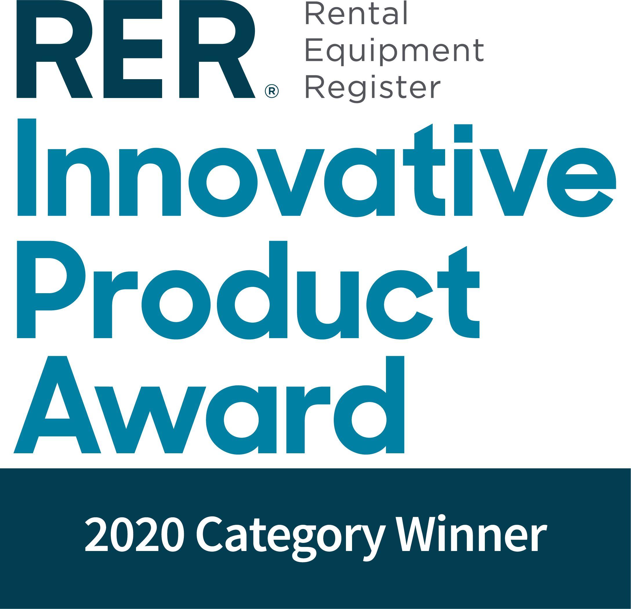 RER - Rental Equipment Register - Innovative Product Award
