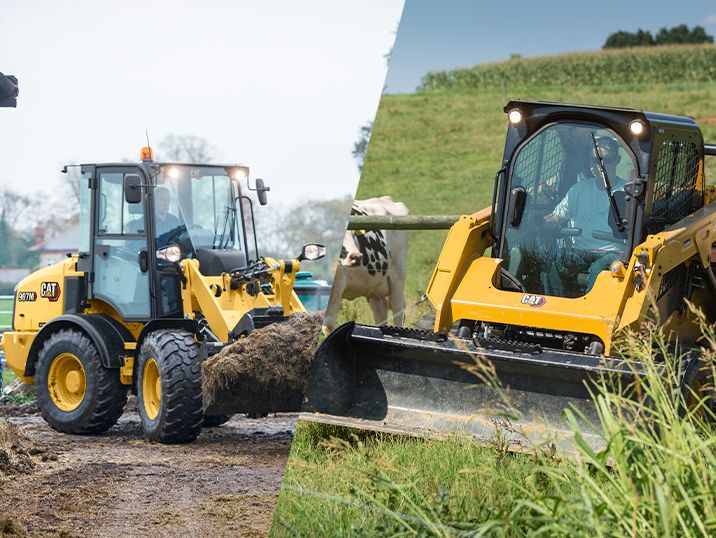 Is a Skid Steer or Compact Wheel Loader Best for Your Farm?