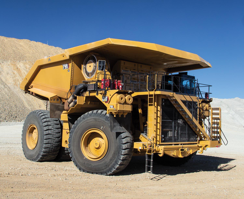 798 AC electric drive mining truck