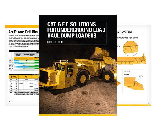 Ground Engaging Tools (GET) for Underground Equipment