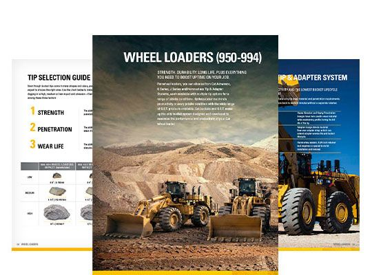 Ground Engaging Tools (GET) for Wheel Loaders