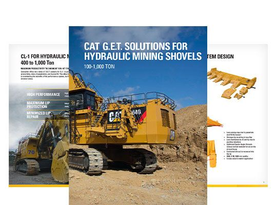 Ground Engaging Tools (GET) for Hydraulic Mining Shovels