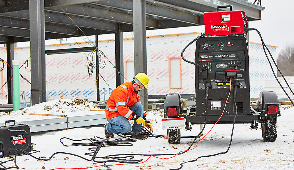 Lincoln Electric welder/generator 4