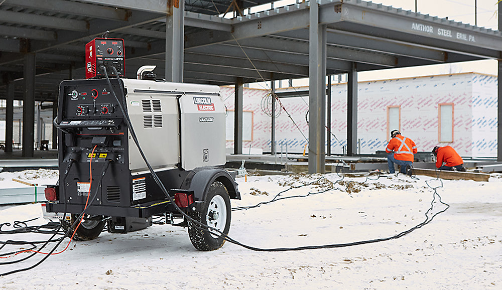 Lincoln Electric welder/generator 1