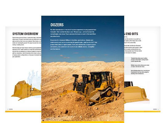 Ground Engaging Tools (GET) for Large Dozers