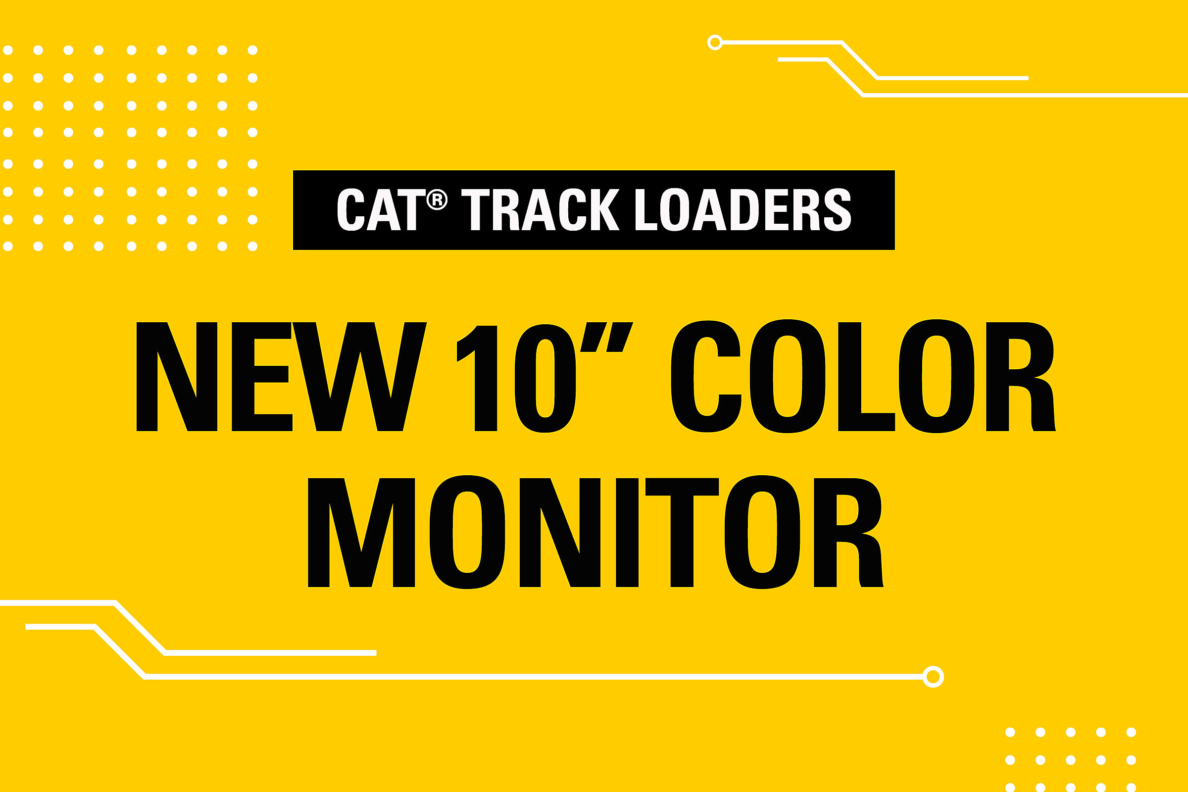 "New 10"" Color Monitor"