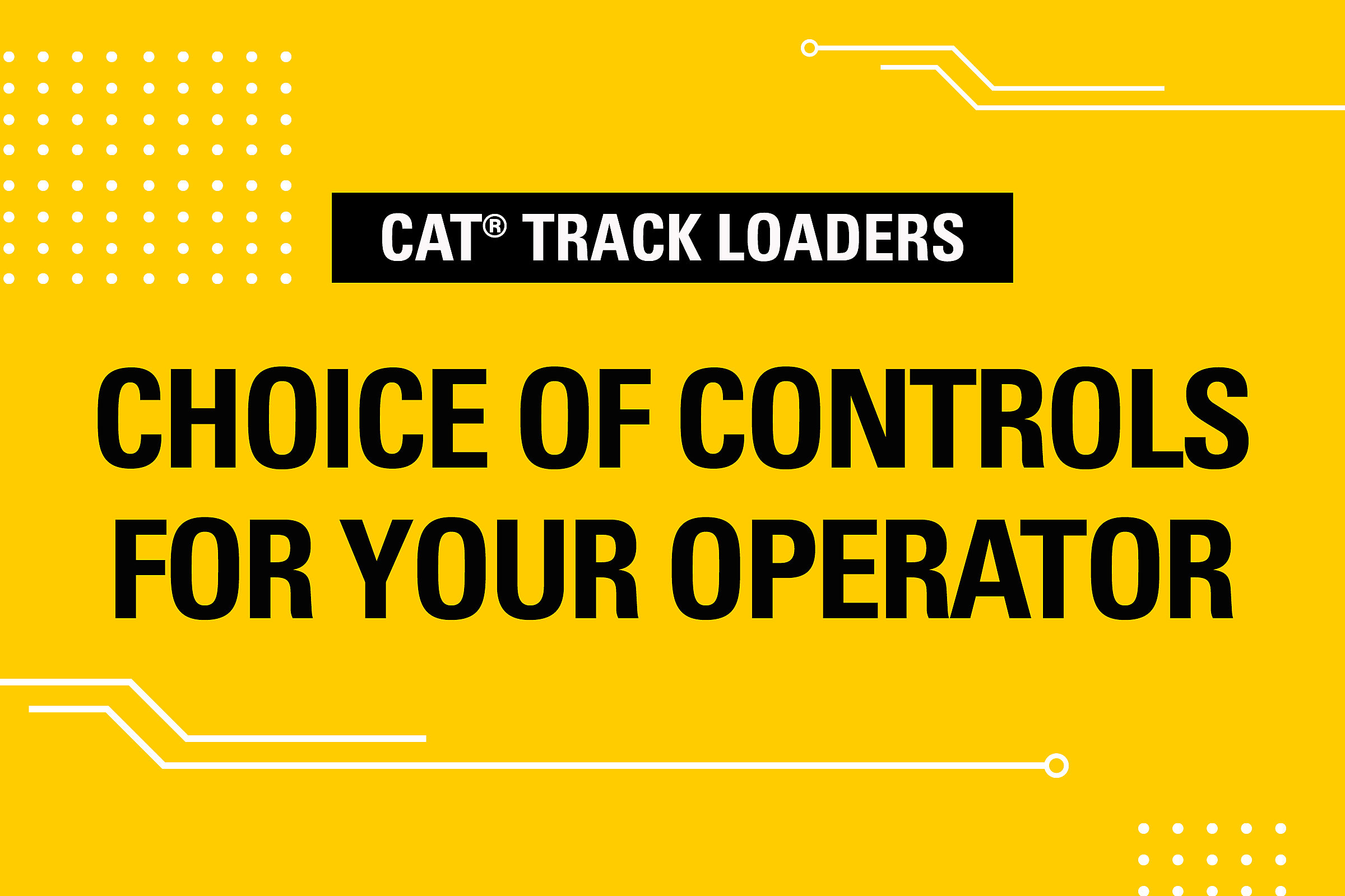 Choice of Controls for Your Operator