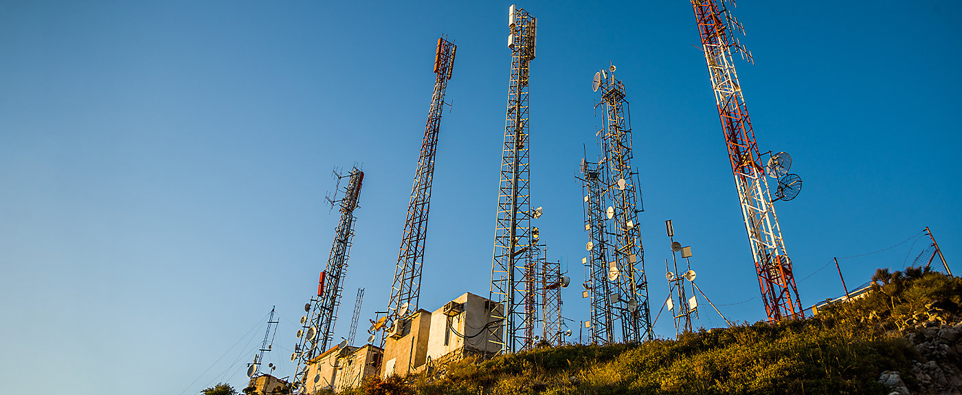 Telecoms towers