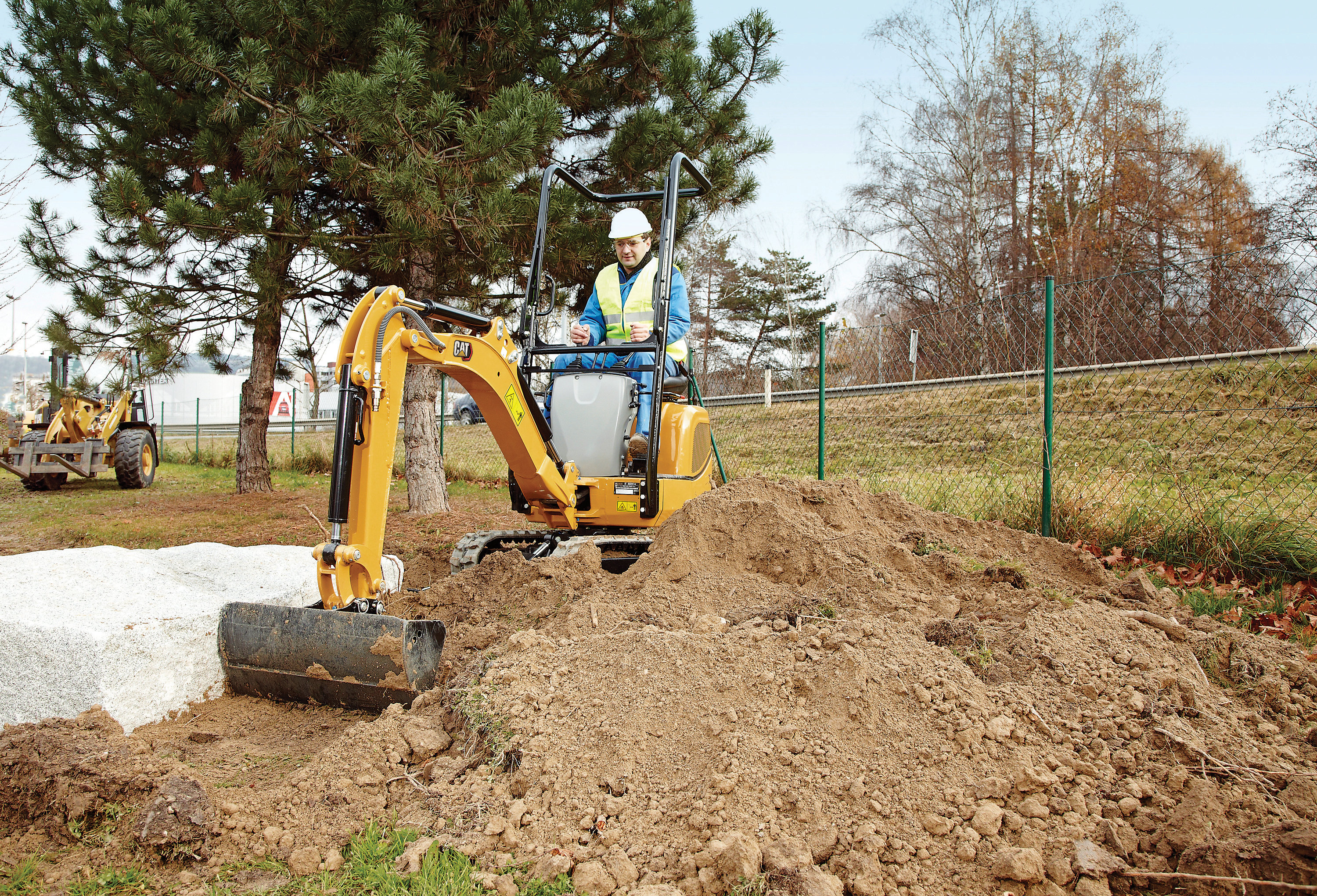 Landscaping - We help you work fast.