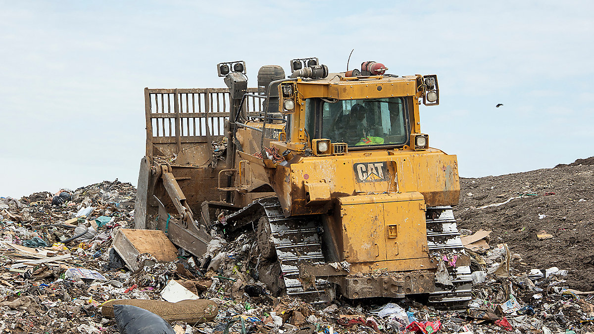 Public Works Department Procures a Cat Landfill Dozer in Record Time