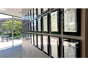 Caterpillar Tech Center Patent Wall