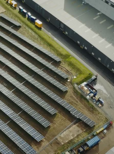 Caterpillar's Industrial Power Systems Division Installs Photovoltaic Farm