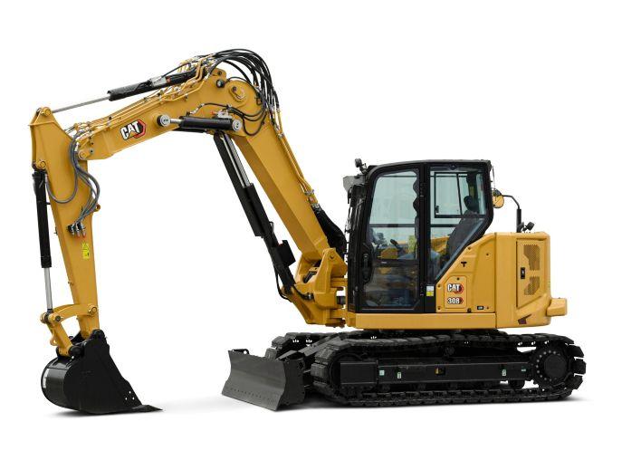 308 CR VAB Mini Hydraulic Excavator