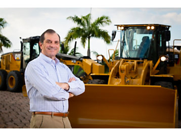 Odair Renosto, presidente da Caterpillar: um time engajado e motivado desenvolve, produz e serve as melhores soluções que os clientes precisam para terem sucesso no campo