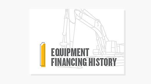 Equipment Financing History