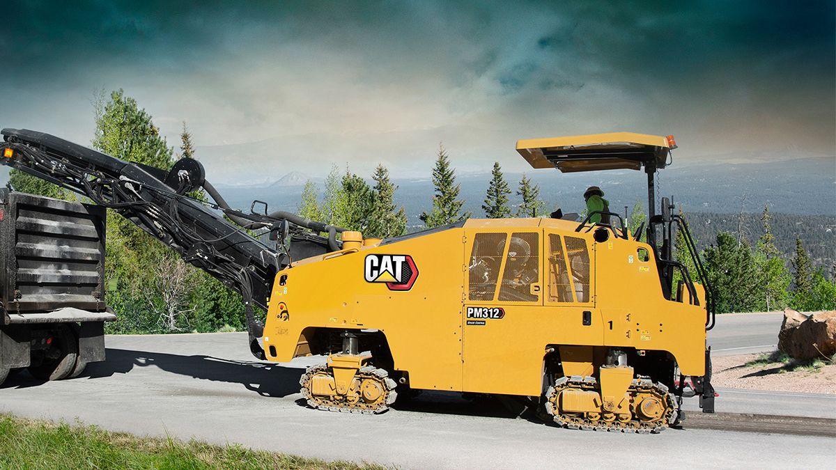 Cat®(卡特)鋪築設備
