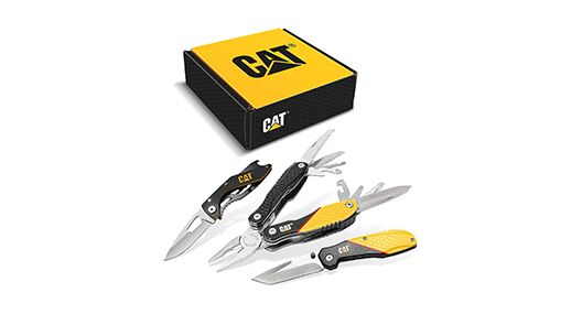 Cat Multi-Tool and Pocket Knife Gift Set