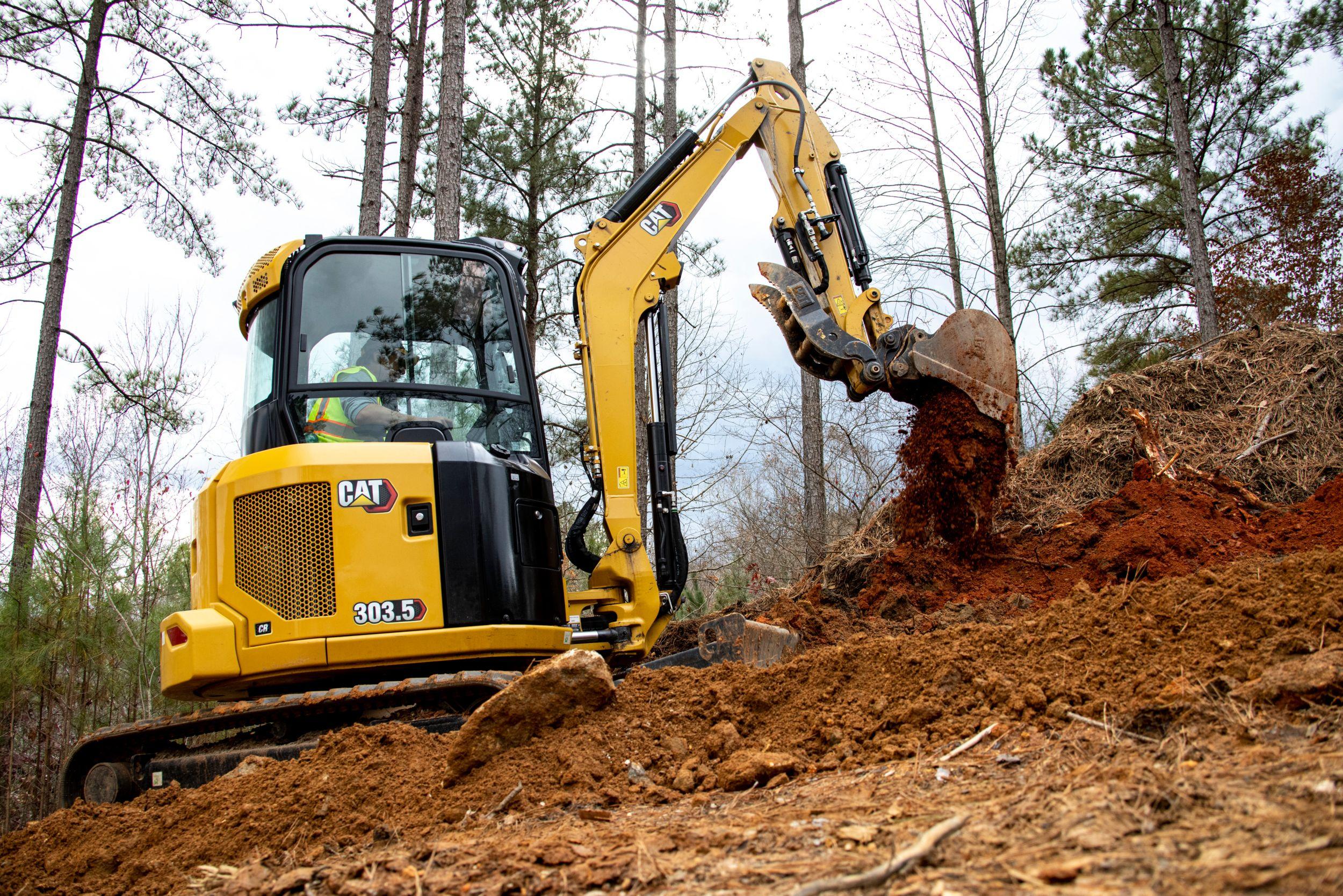Mini Excavators 303.5 CR