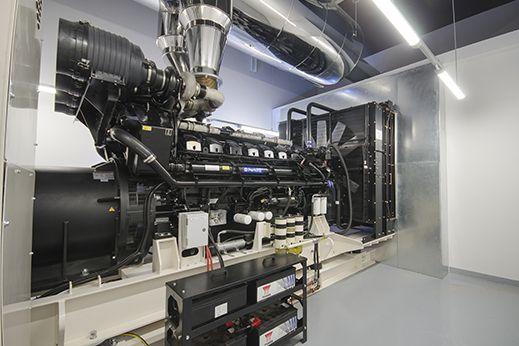 A J Power generator set