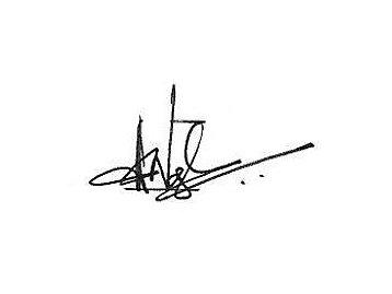 Asha Varghese Signiture