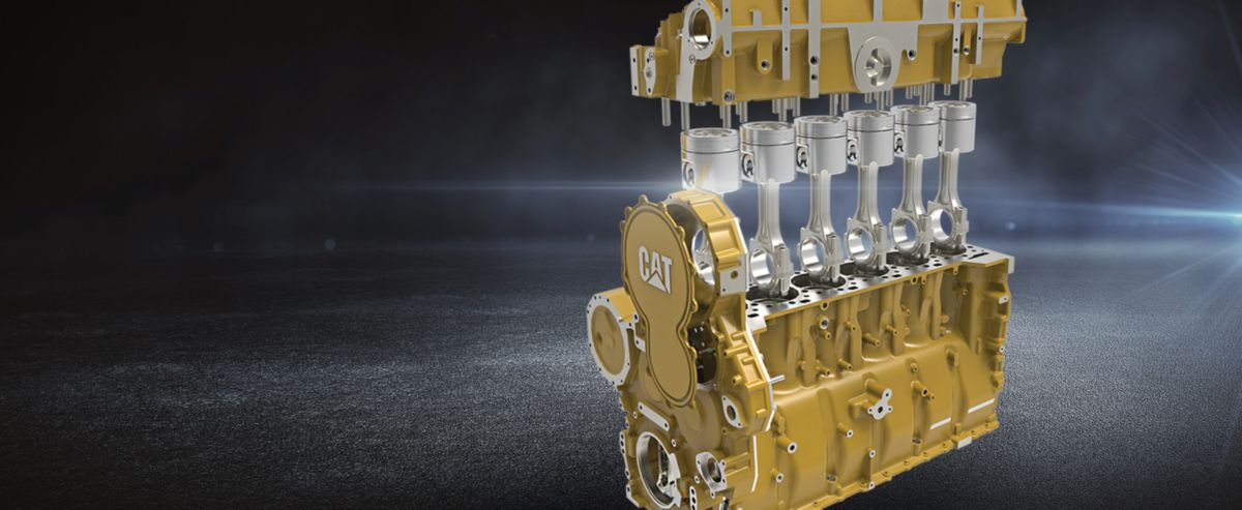 Heavy-Duty Long Block Engine