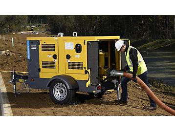 Atlas Copco pump