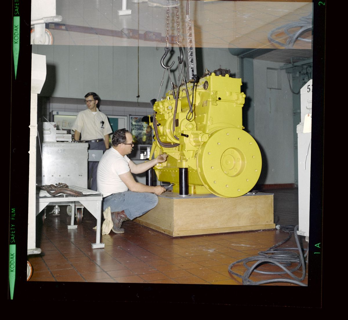 """Caterpillar's first diesel engine prototype, """"Old Betsy,"""""""