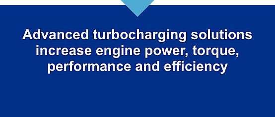 Advanced turbocharging