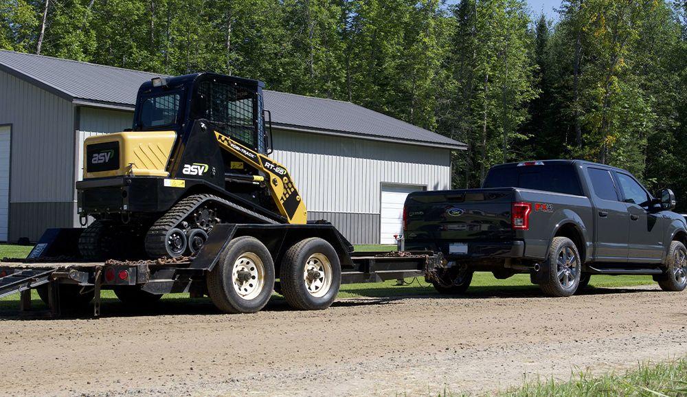 ASV compact track tractor 3