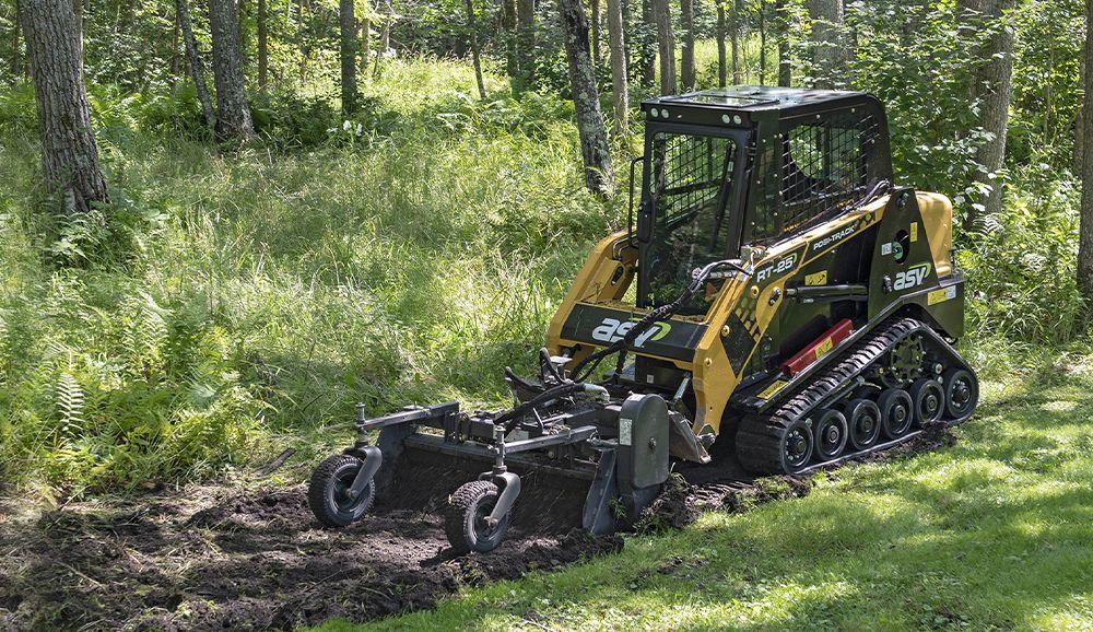 ASV compact track tractor 1