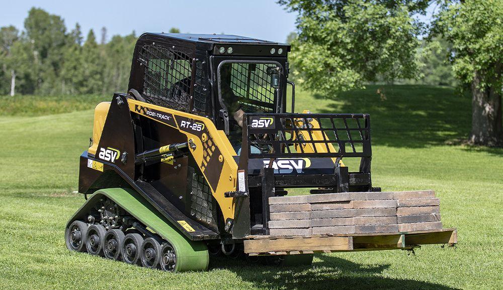 ASV compact track tractor5