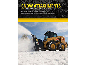 Cat Attachments for Snow