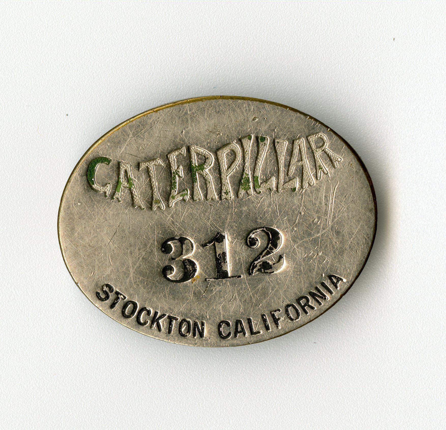 Holt Caterpillar Employee Badge 1910