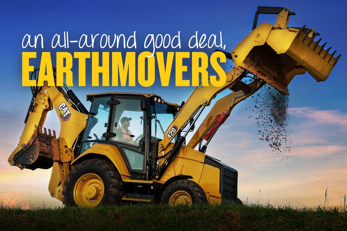An all-around good deal, earthmovers