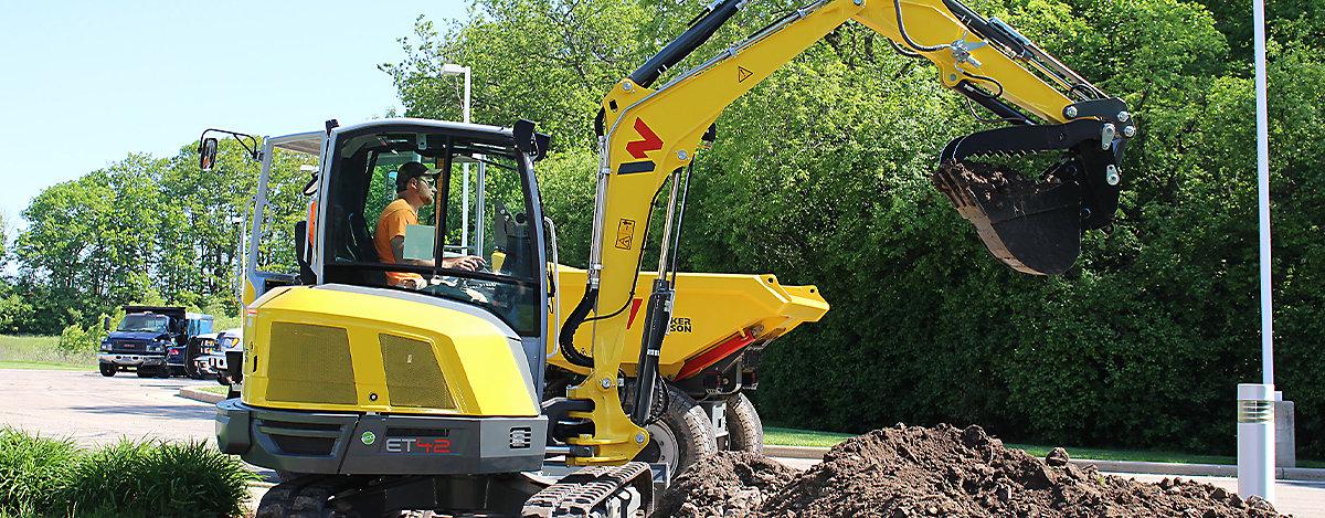 Wacker Neuson Compact track excavator