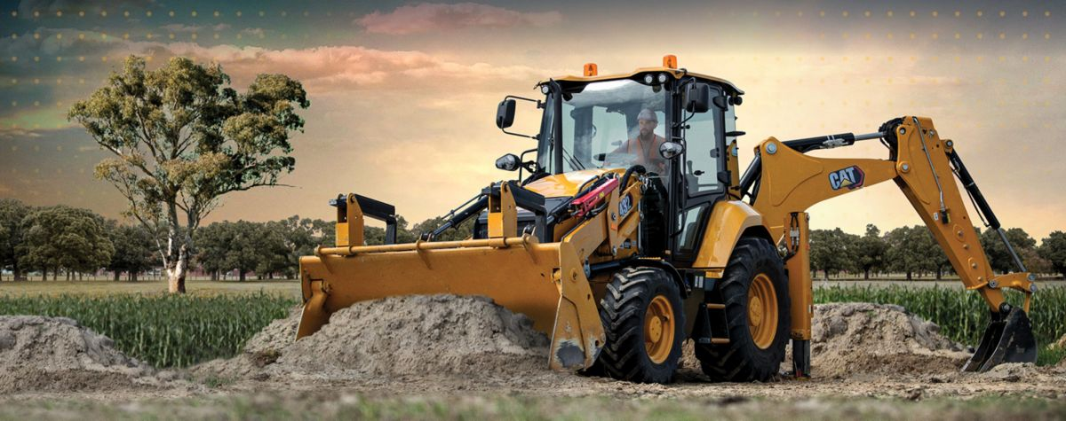 Cat® backhoe loaders provide capability for many applications.