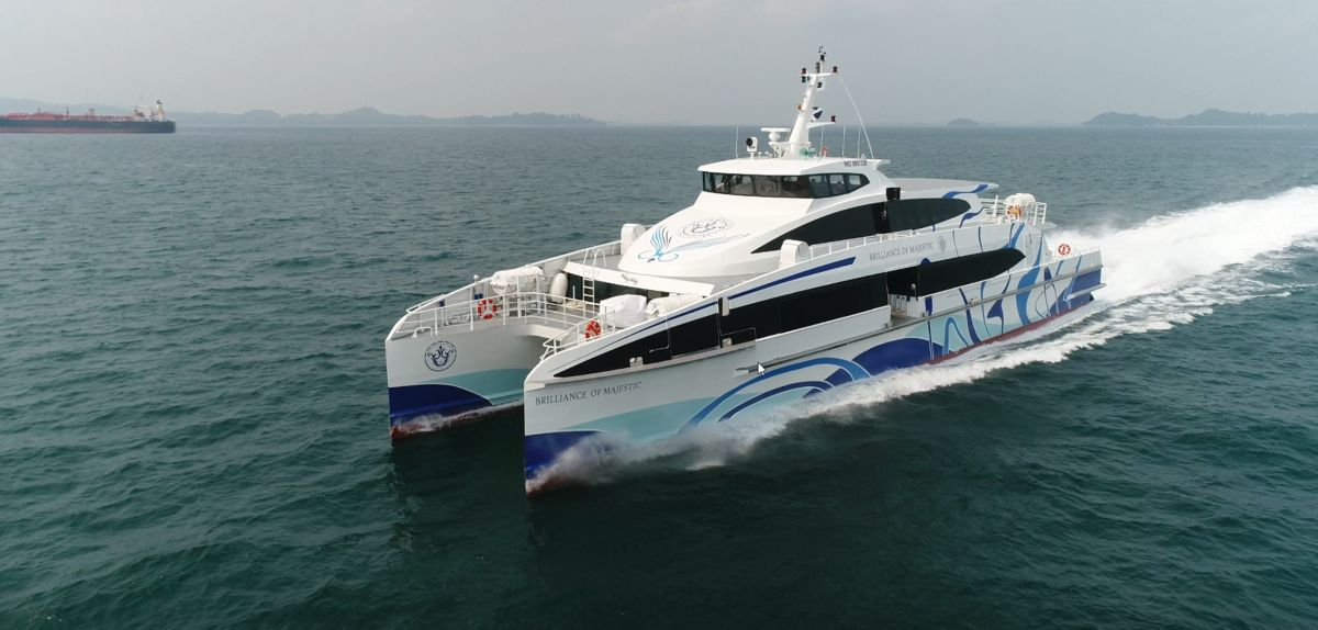 Perkins® E70 provides auxiliary power to new high speed ferries