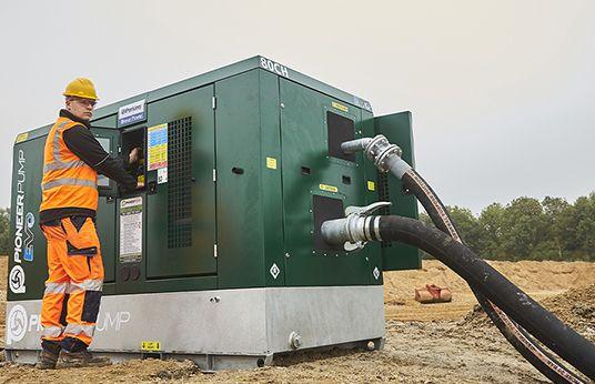 Pioneer pumping equipment