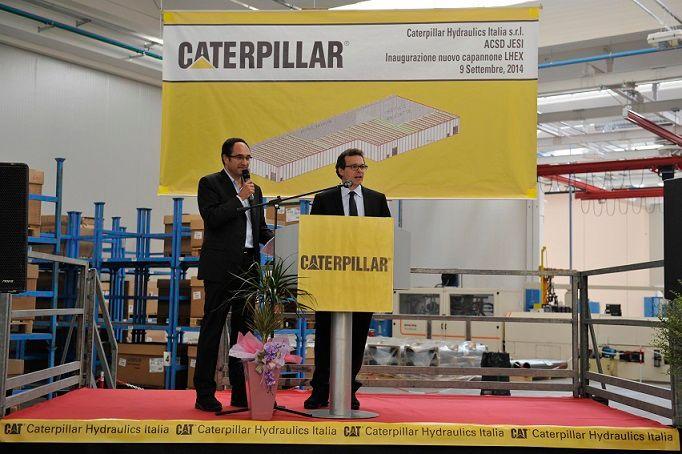 2014 Grand opening of the Caterpillar Jesi Plant.