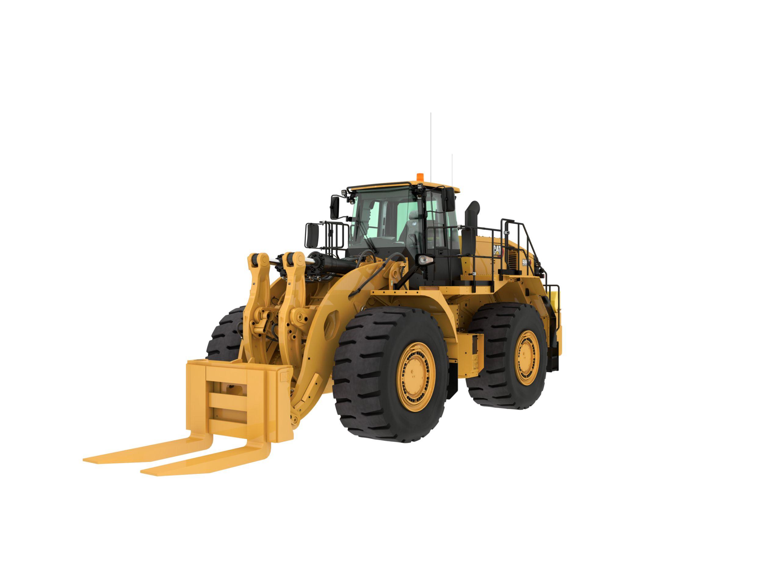 986K Large Wheel Loader - Block Handler