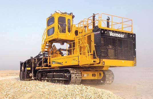 Vermeer terrain leveler