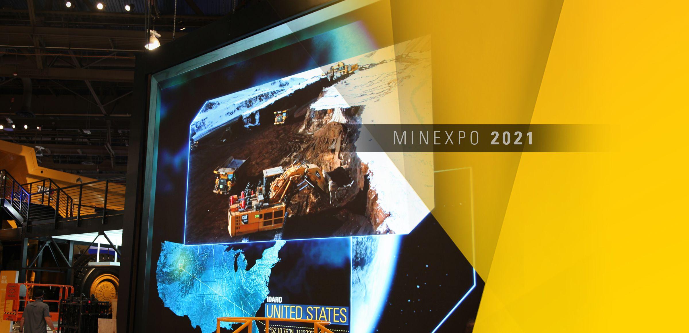Caterpillar at MINExpo 2021