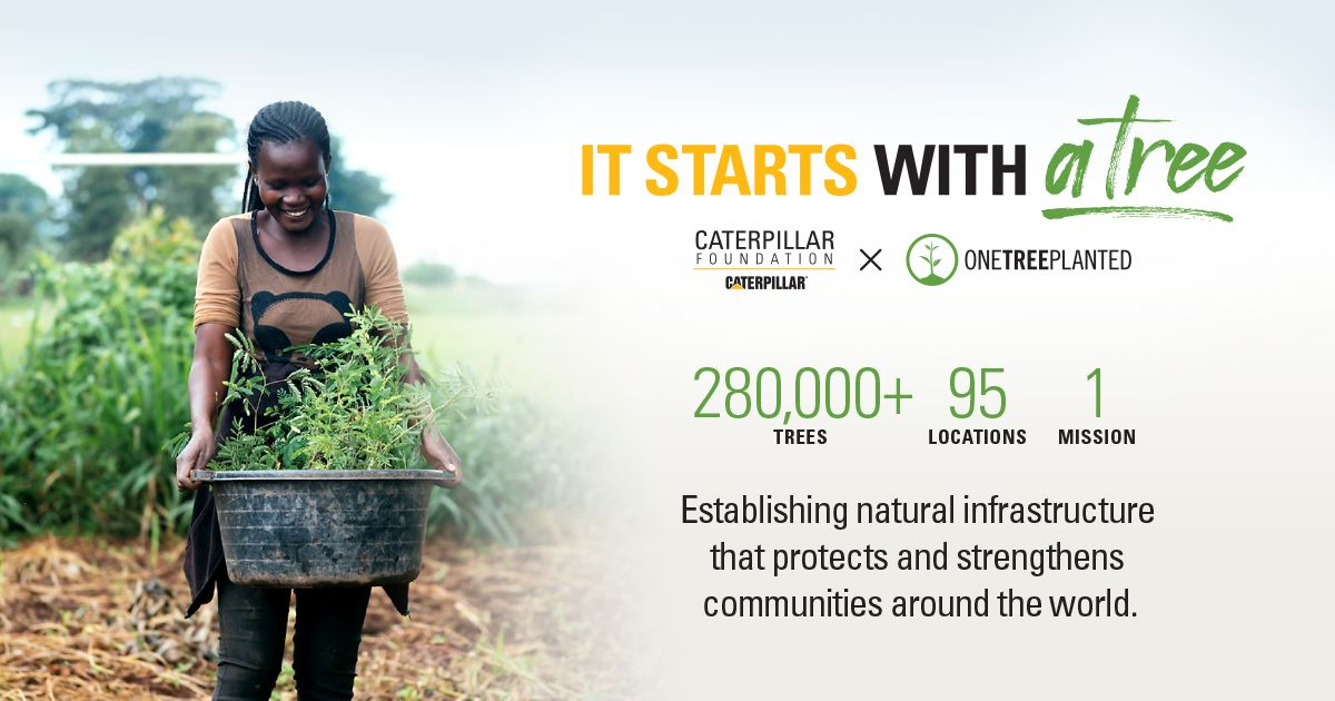 280000+ Trees, 95 Locations, 1 Mision